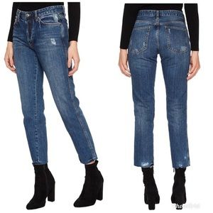 We The Free Distressed Slim Boyfriend Jeans